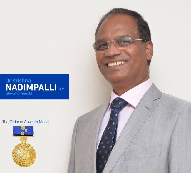 Dr. Krishna NADIMPALLI OAM