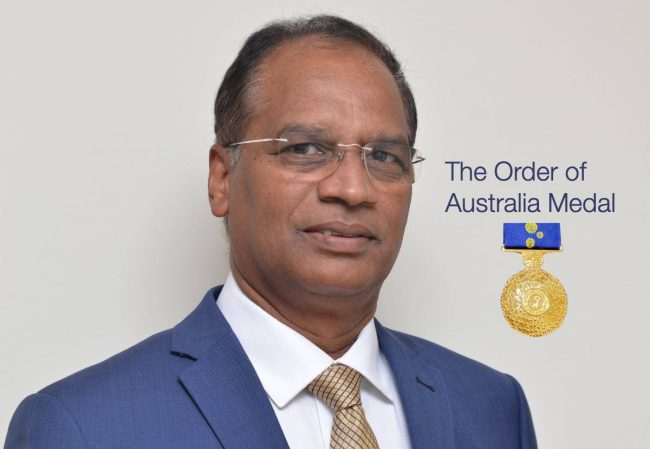 Dr. Krishna Nadimpalli - The Order of Australia Medal
